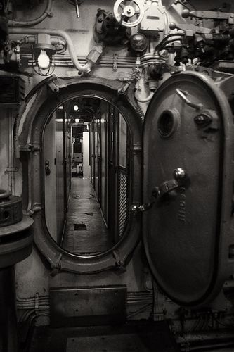 Hard Surfaces - Submarine Door | Mechanical | Submarines, Navy ships, German submarines