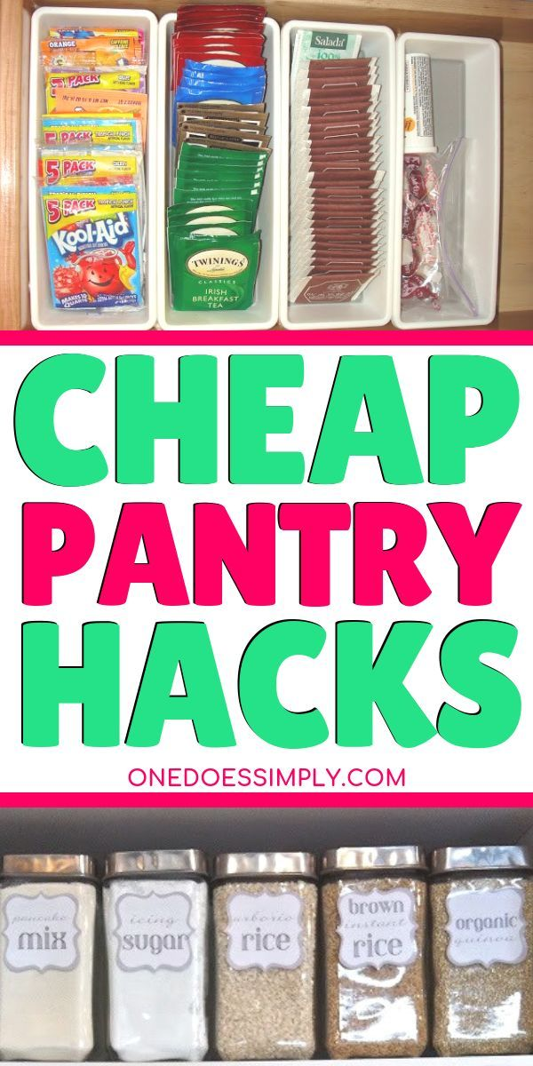 10 Budget-Friendly Pantry Organization Ideas That Looks Impressive - Organize me! #pantryorganizationideas