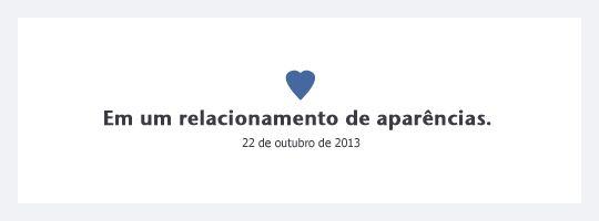 Se os status de relacionamento do Facebook fossem sinceros. Clique e veja todos no Blog!