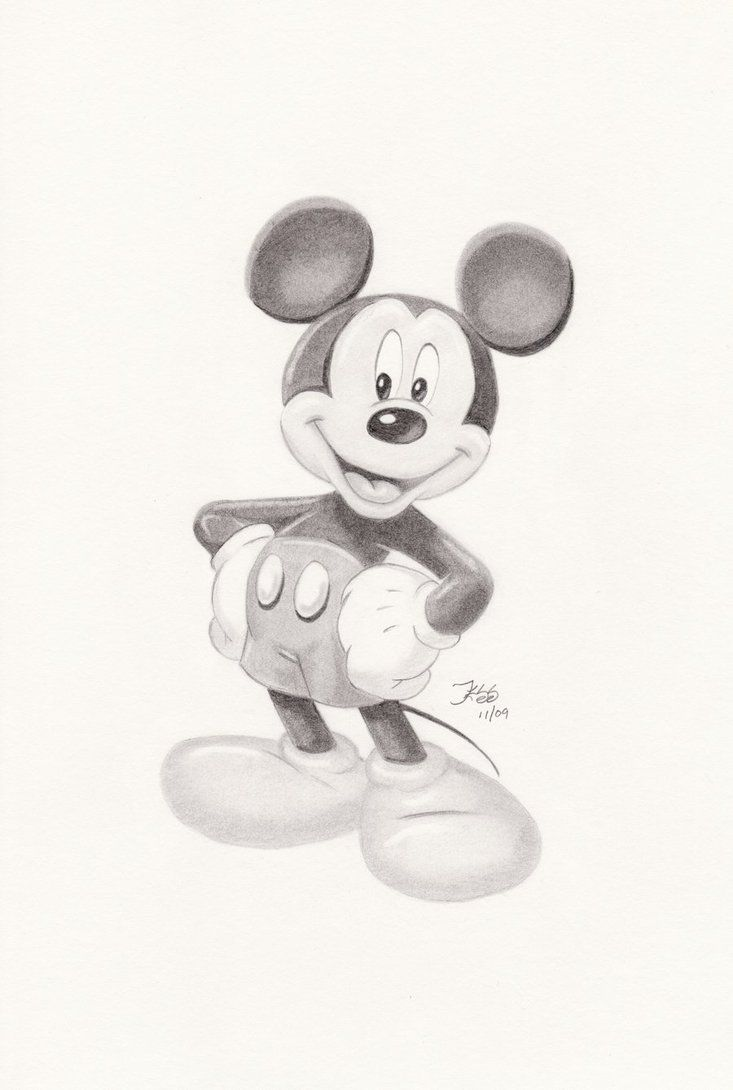 Mickey Mouse by JESSB82 | Mickey mouse drawings, Mouse ...