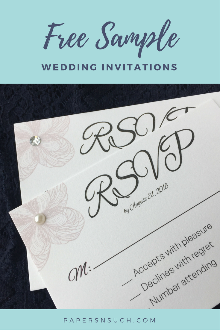 Wedding Invitations - instant download template - printing services ...