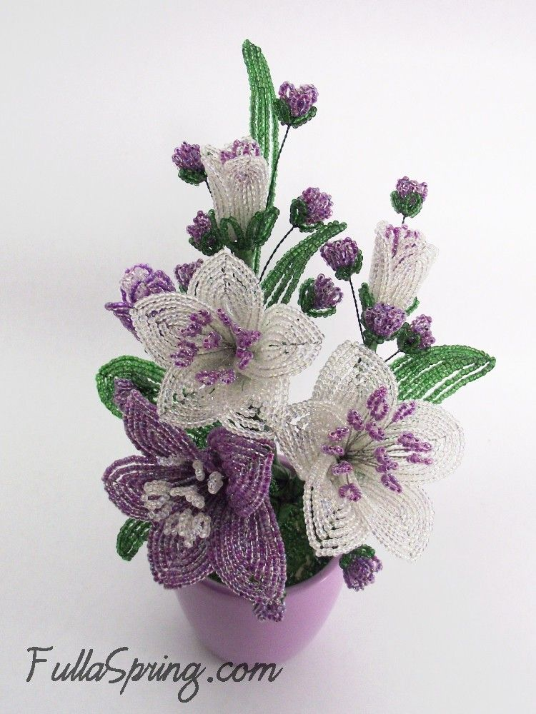 fulla beaded flowers and accessories