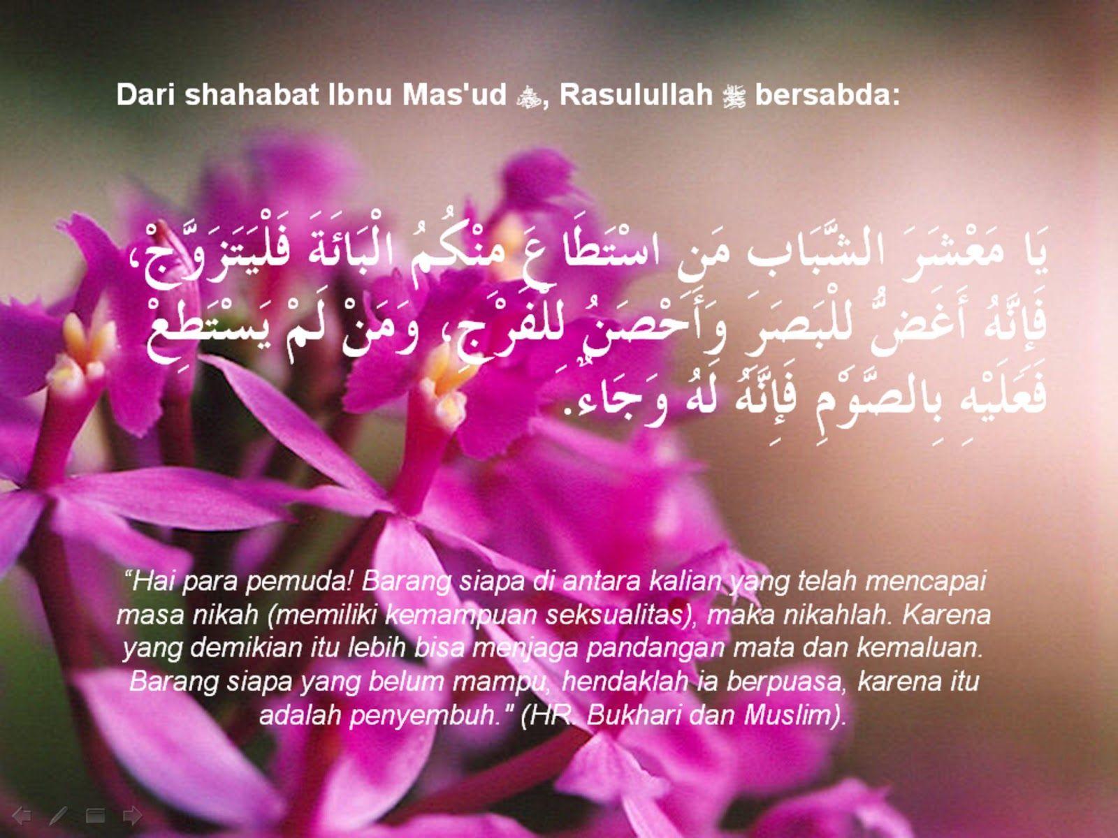 Kata Kata Mutiara Islam Tentang Nikah Ragam Muslim Kata Kata Mutiara Mutiara Gambar
