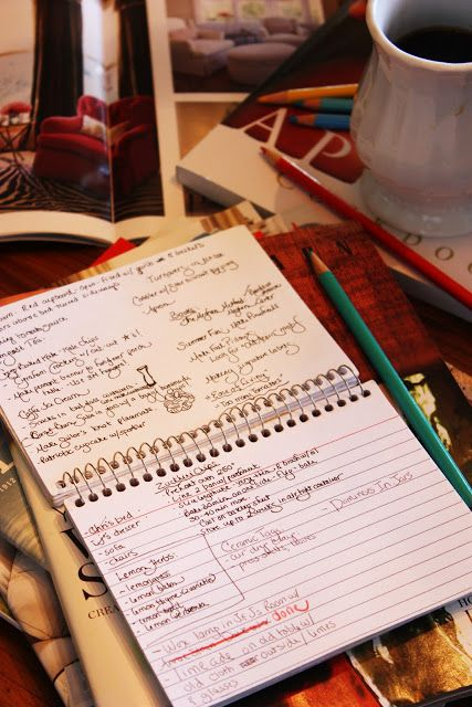 how to write study notes