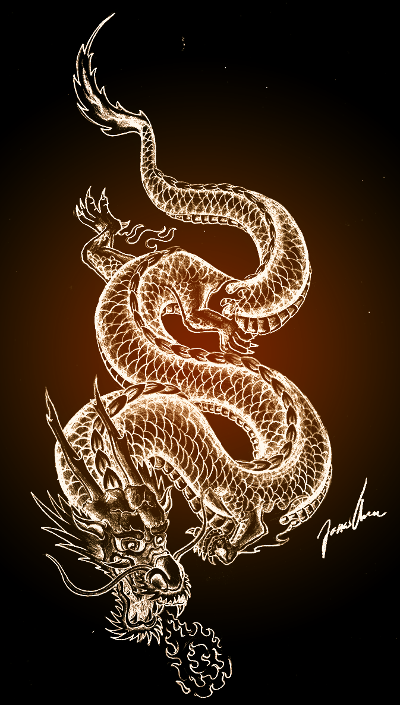 Chinese Dragon Wallpaper Iphone : chinese, dragon, wallpaper, iphone, Dragon, Tattoo, Designs,, Tattoo,, Chinese, Tattoos