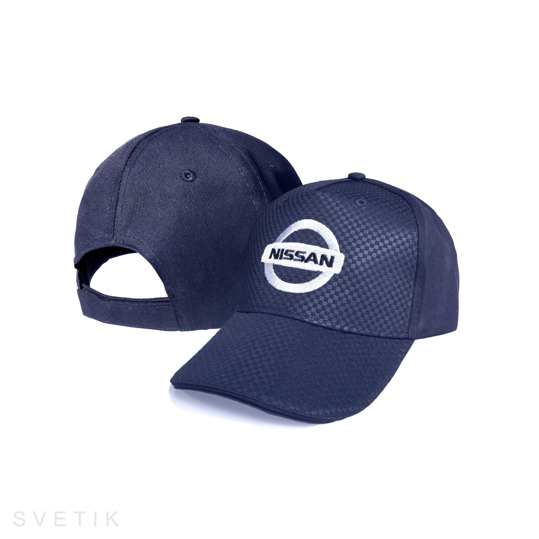 5c925d7378c CARBON Nissan Navy Blue Baseball Cap Embroidered Auto Car Logo ...