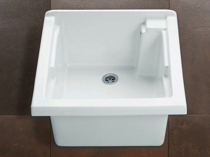 Dolomite Ceramica Listino Prezzi.Ausgussbecken Maggiore Kollektion Laundry By Alice Ceramica