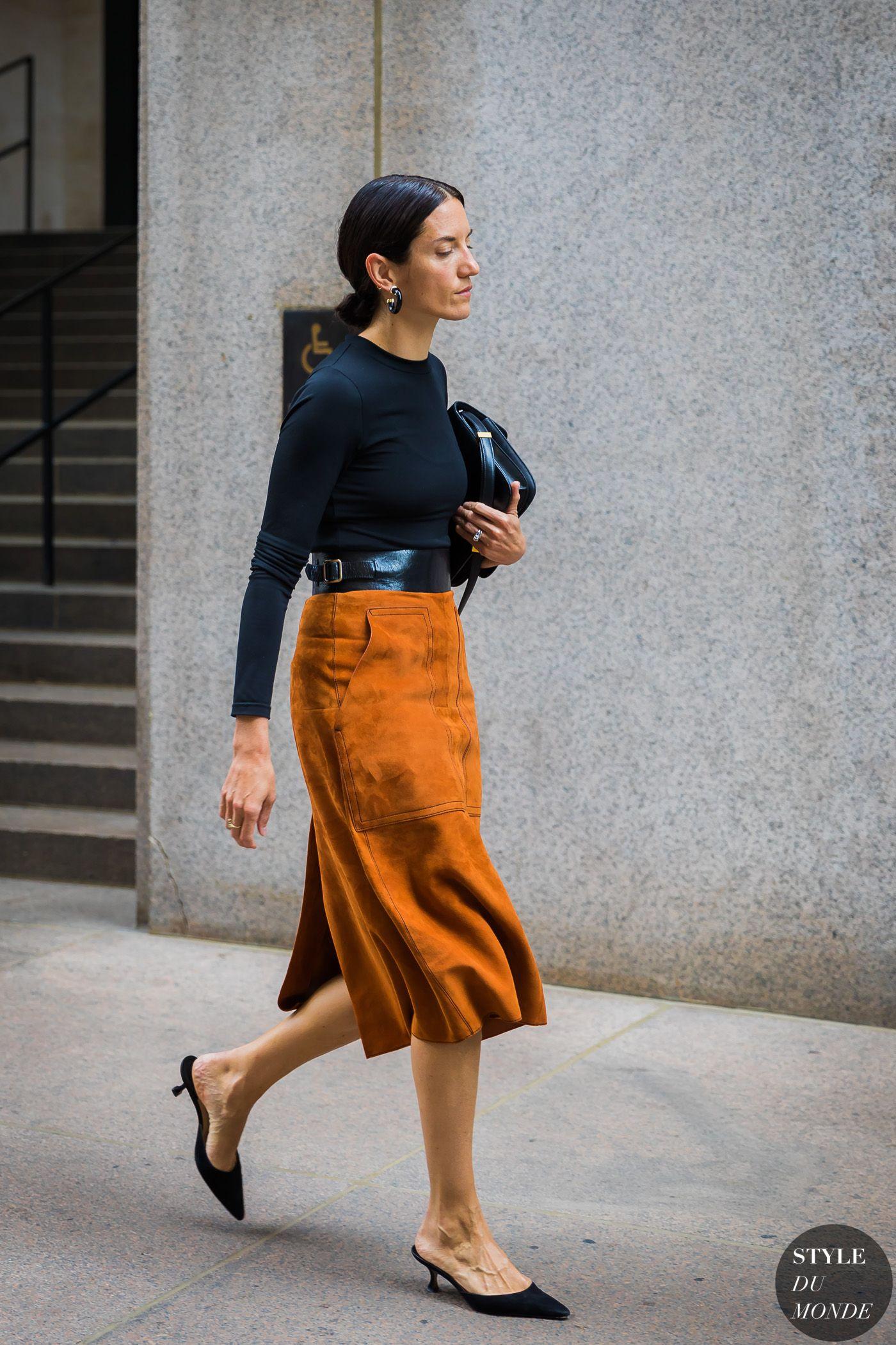New York SS 2018 Street Style: Melissa Ventosa Martin