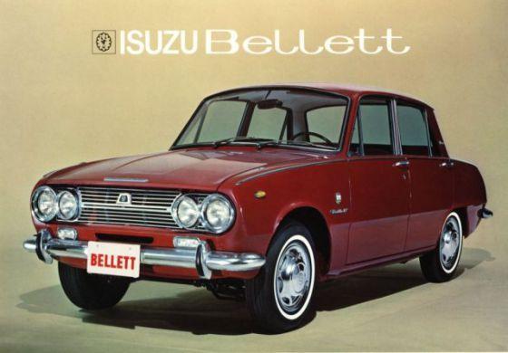 Isuzu Bellet 01 レトロカー 古い車 クラシックカー