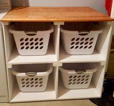 Diy Laundry Sorter Laundry Basket Dresser Laundry Basket