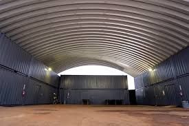 Huge Shed Made With Shipping Containers And A Prefabbed Roof Casas Prefabricadas Modernas Casas Prefabricadas Casas Contenedores