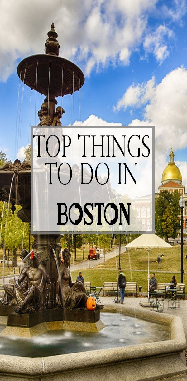 Top 11 Things To Do During Your Next Trip To Boston