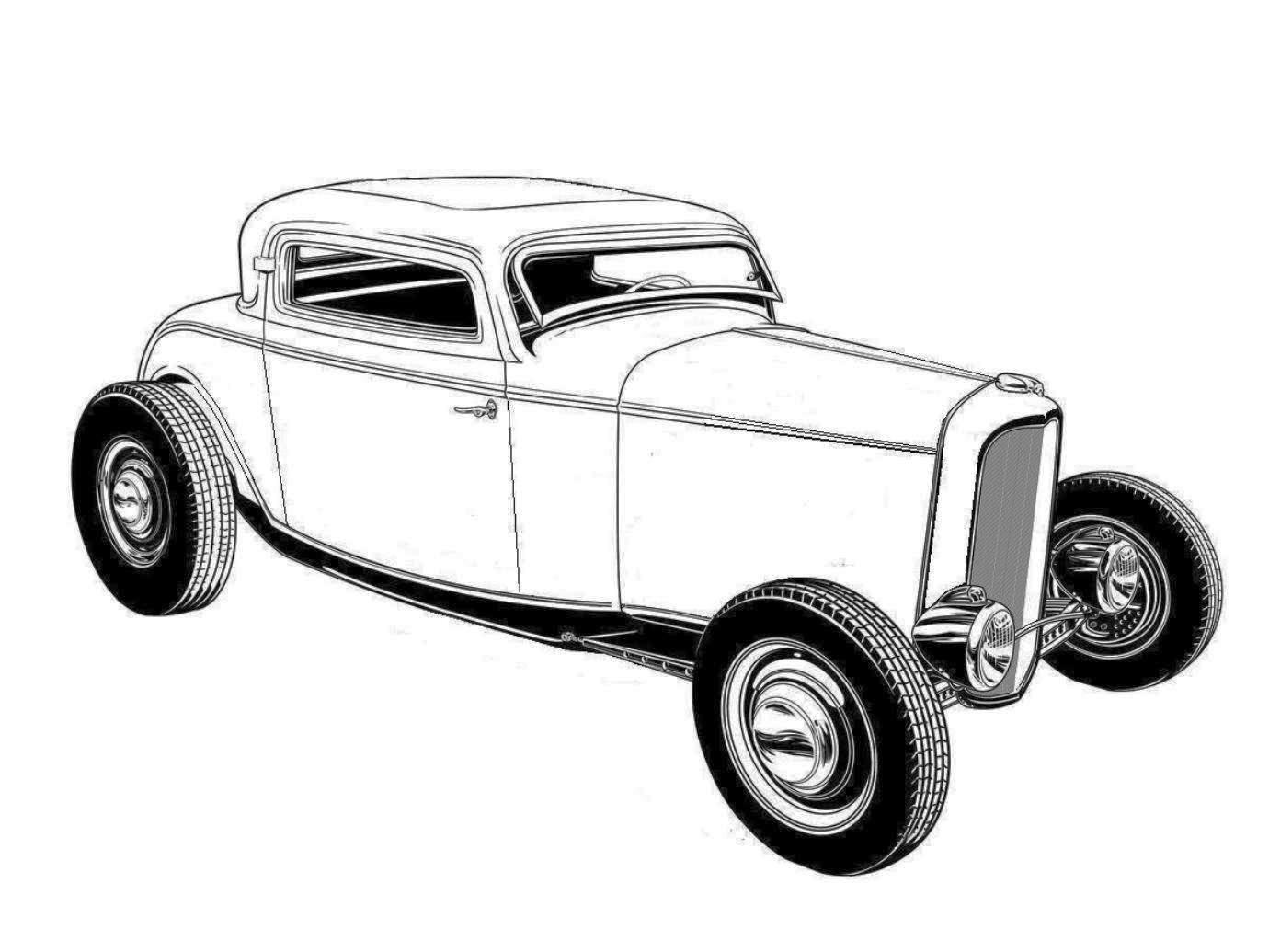pin de kerry sr em car  truck b  w illustrations