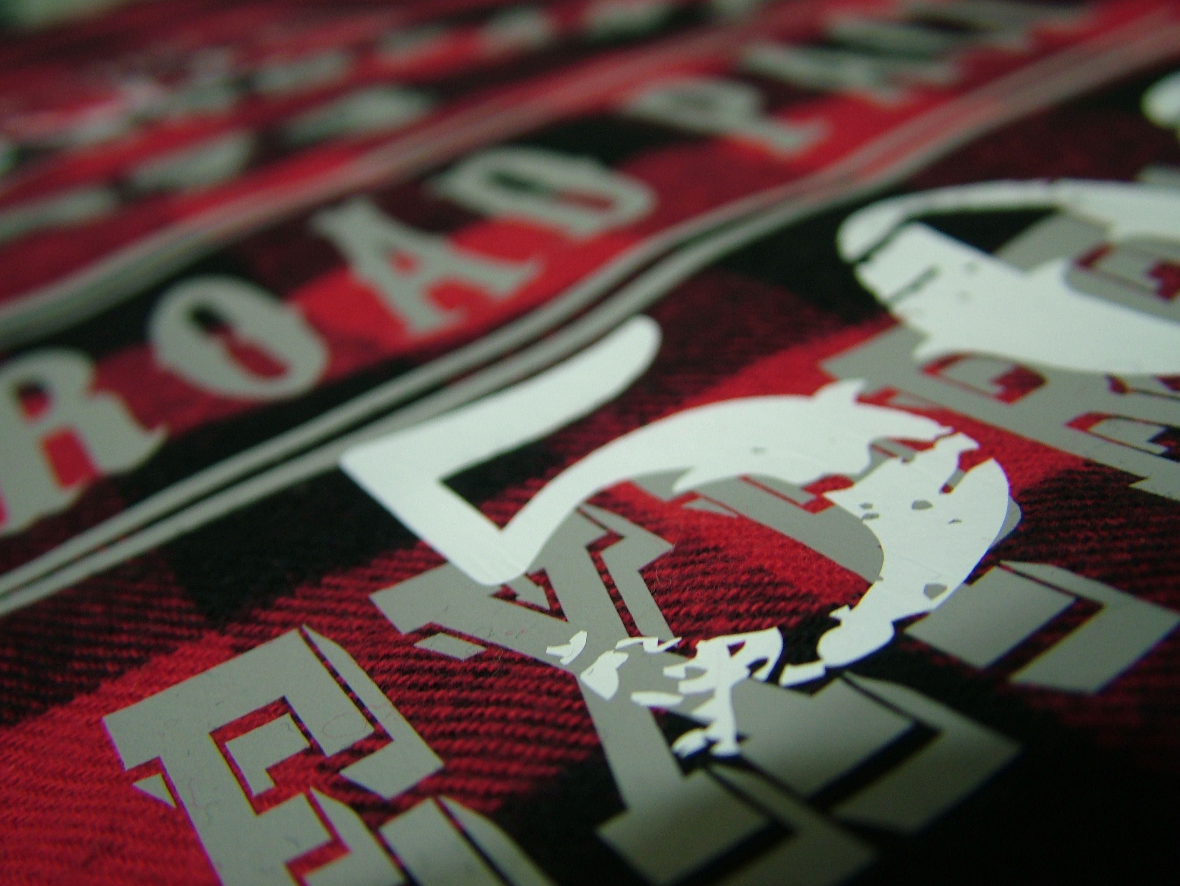 detalle. estampado textil. vinil textil