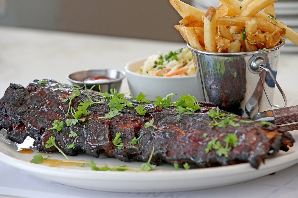 The Baby Back Ribs At Cov Restaurant In Downtown Wayzata