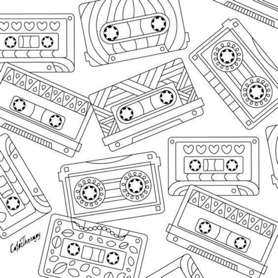 Pin de Barbara en coloring music   Pinterest