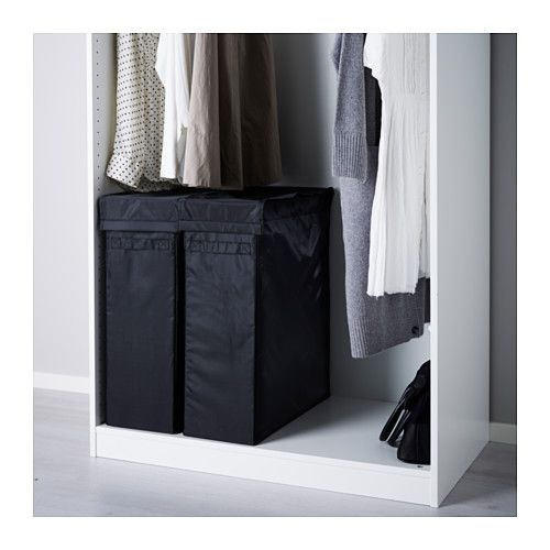 Skubb Laundry Bag With Stand Black Ikea Pax Wardrobe Laundry Basket