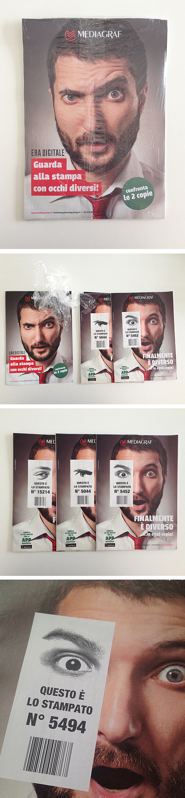 Roto-offset variable data printing brochure on Behance