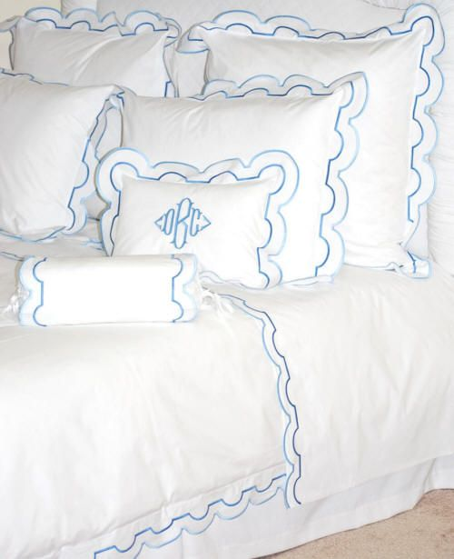 Pin On Monogrammed Bed Linens Bedding