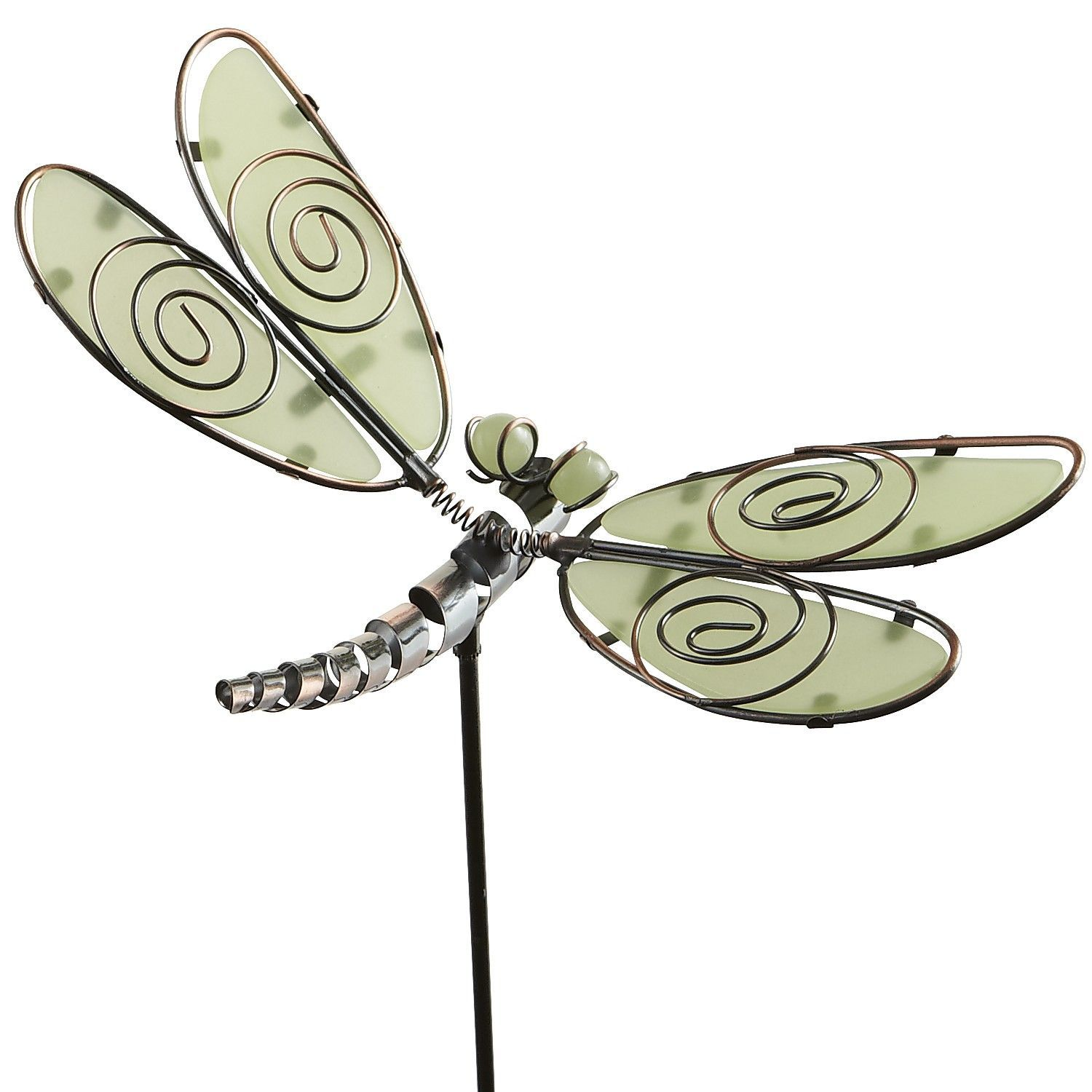 (Product) (Outdoor) Glow In The Dark Dragonfly Garden Stake