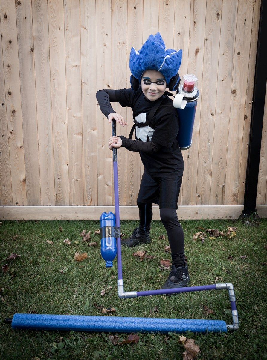 Complete Splatoon 2 Costume Quick halloween costumes, Tv