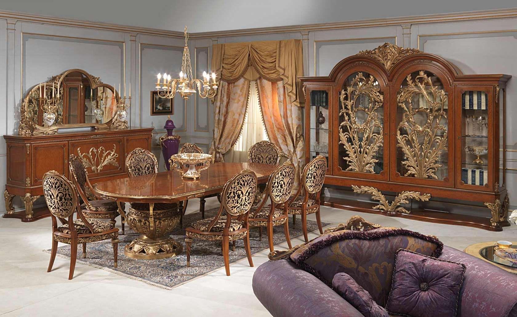 Sala da pranzo Versailles stile Luigi XVI | Luxury Dining Rooms ...
