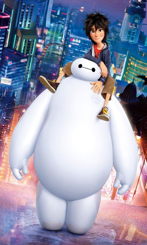 Download Film Big Hero 6 Sub Indo : download, (film), Wallpaper, Iphone, Disney,, Disney, Lucu,