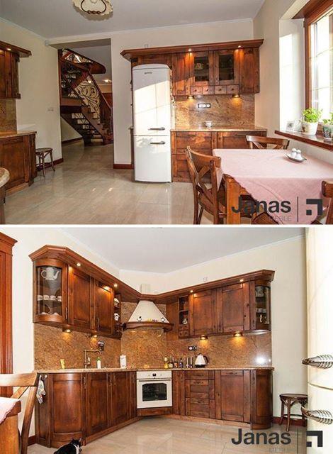 Kuchnia Forno To Kuchnia Z Drewna Ktora Pomimo Zmieniajacych Sie Trendow Zawsze Znajdzie Swoich Zwolennikow Meblejanas Wood Kitchen Home Home Decor Decor