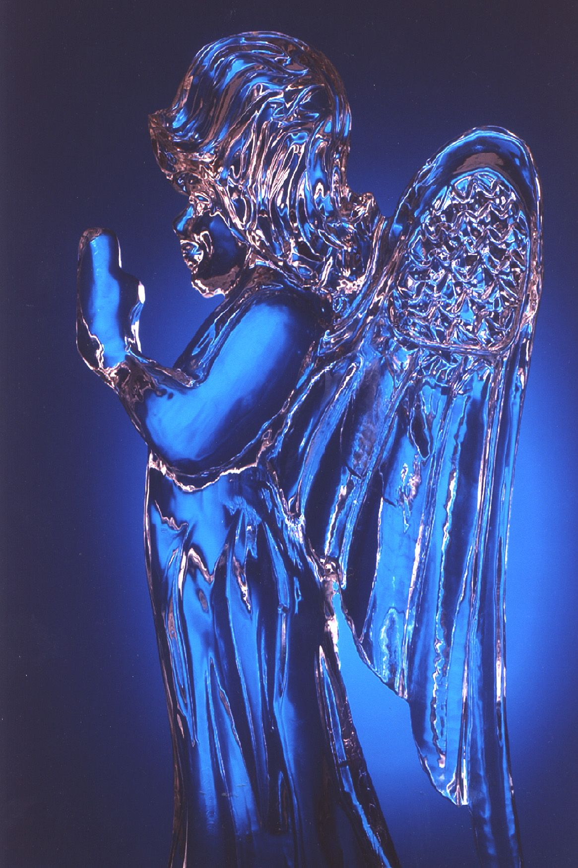 Angel ice carving   Ar...