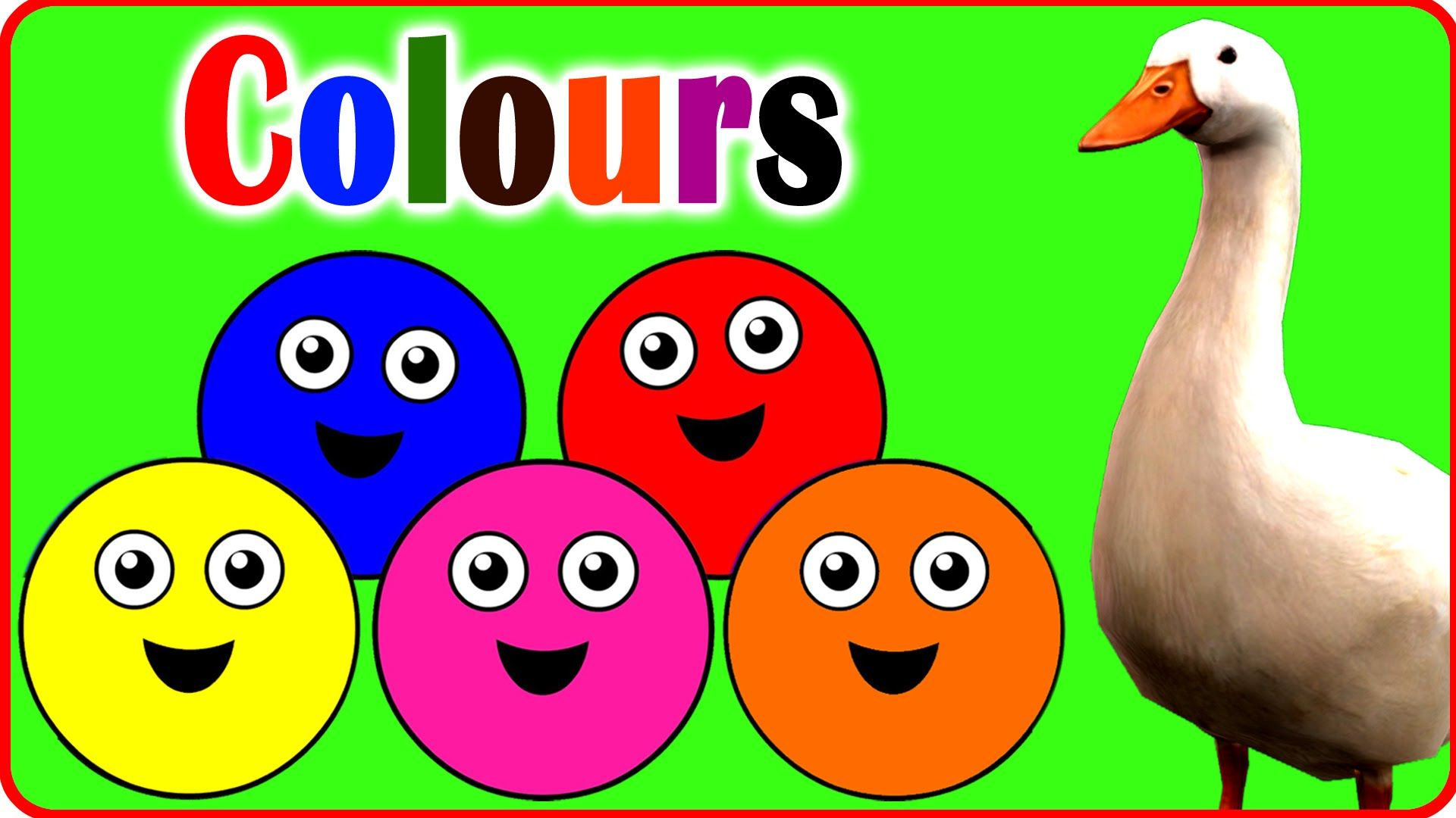 Let\'s Learn The colours! | Cartoon Animation colours Songs for ...