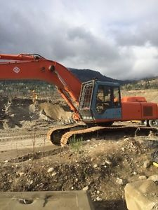 1995 Hitachi EX 300 LC-3 Revelstoke05/12/2016 In good shape with 600hrs on new rebuild engine. $12,000 obo