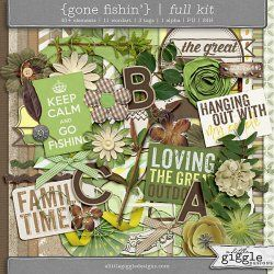 {Gone Fishin'} Kit | A Little Giggle Designs