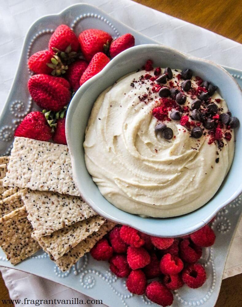 Vegan Cheesecake Dessert Hummus