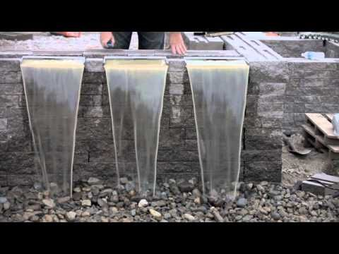 Waterfall Spillways Youtube Waterfalls Backyard 400 x 300