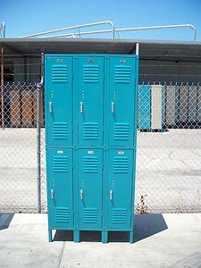 Replubic Steel Standard Metal Double Tier Locker Used | eBay ($98)