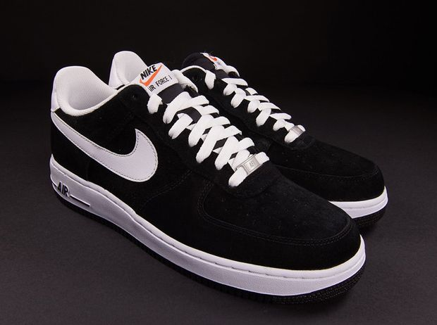 newest 56bde 7e30d Nike Air Force 1 Low - Black Suede - White - SneakerNews.com ...