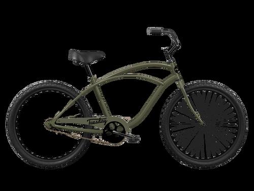 BICYCLE LOCK-ON GRIPS BLACK VINYL BEACH CRUISER CHOPPER LOWRIDER CYCLING NEW