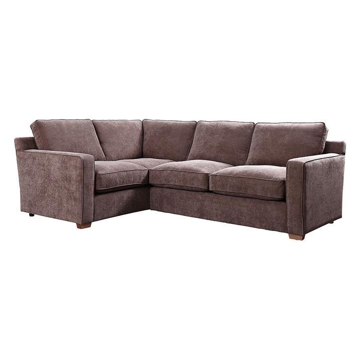 Lawson Left Hand Facing Corner Sofa Bed Dark Brown Corner Sofa Corner Sofa Bed Sofa Bed