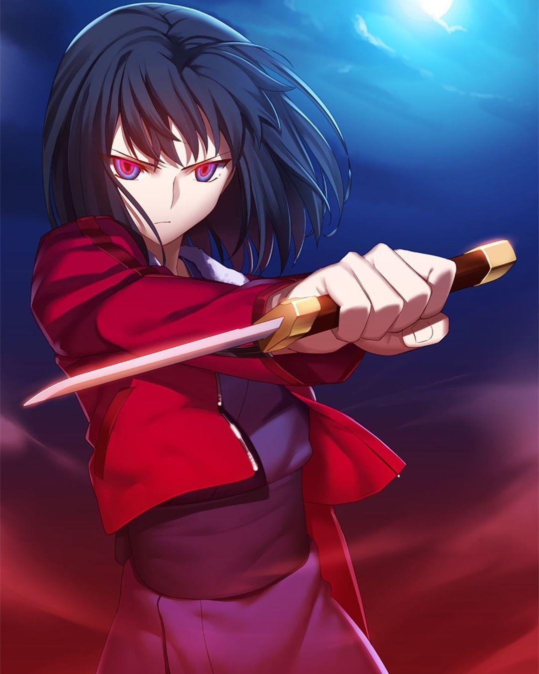 Pin de Geor ฅ'ω'ฅ en Kara no Kyoukai Personajes de anime