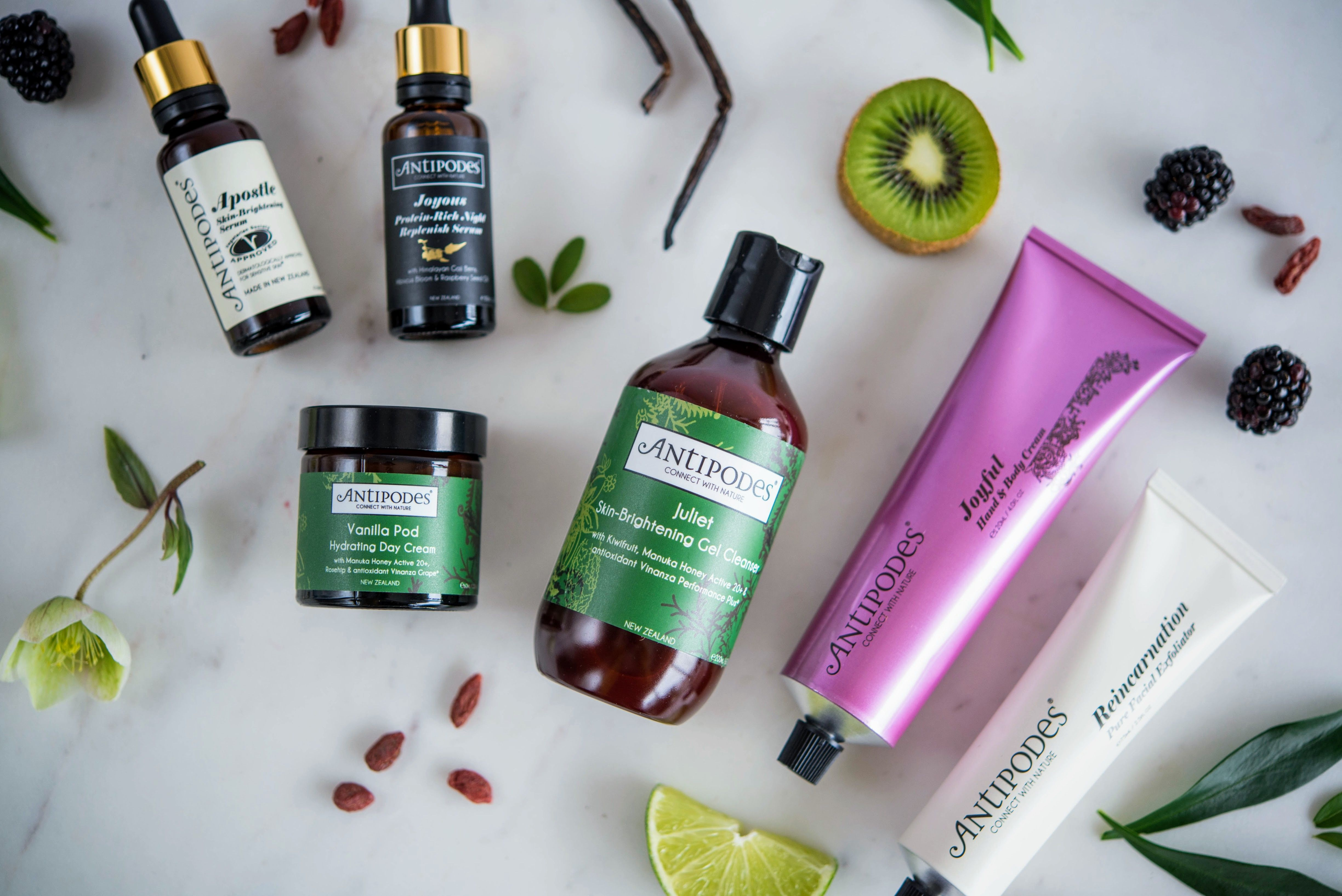 Made in New Zealand, Antipodes is a natural skincare brand