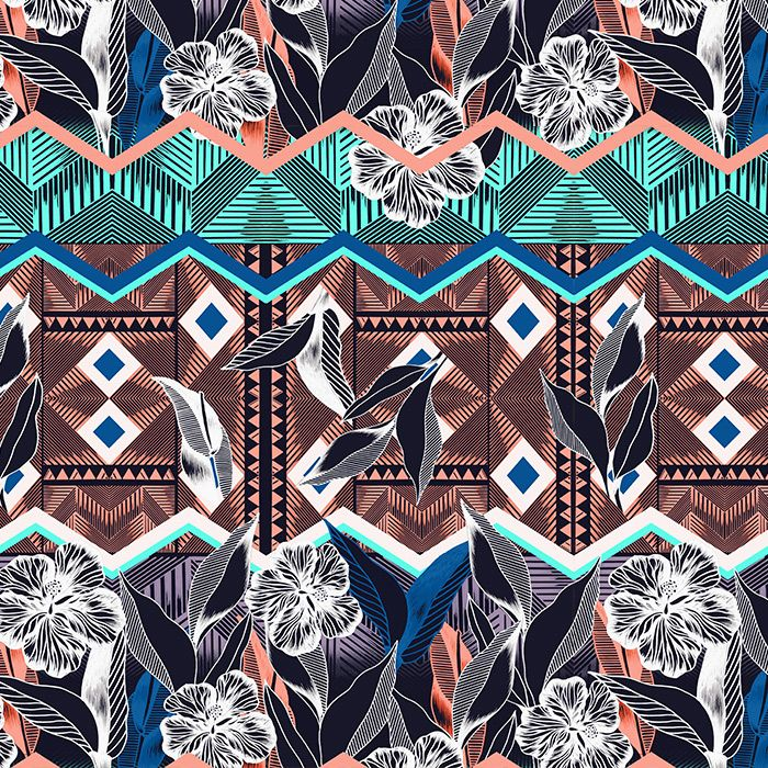 Vk181 Graphic Tropic by Victoria Krupp #tropicalpattern