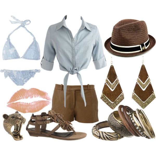Wild Child by corviform on Polyvore