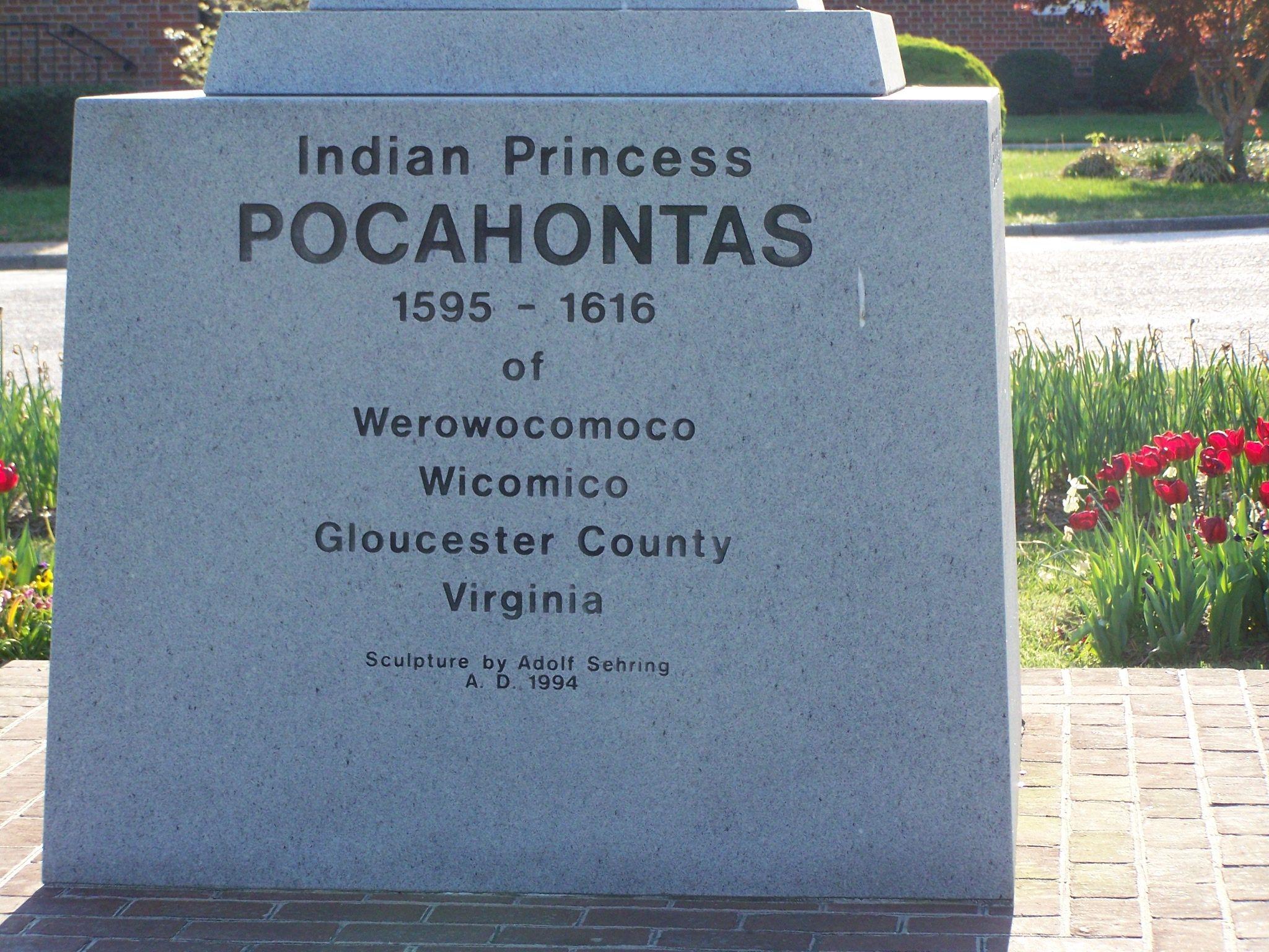 Indian Princess Pocahontas Marker