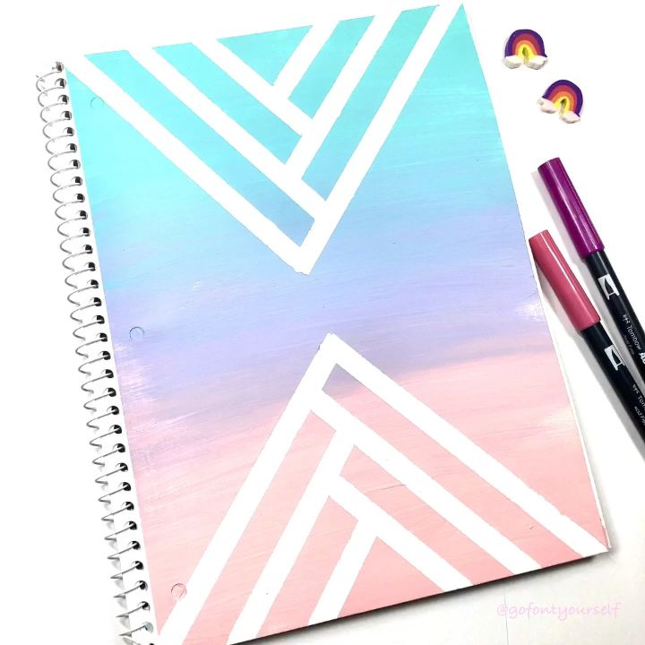 Notebook Makeover -   18 subjects Notebook covers ideas