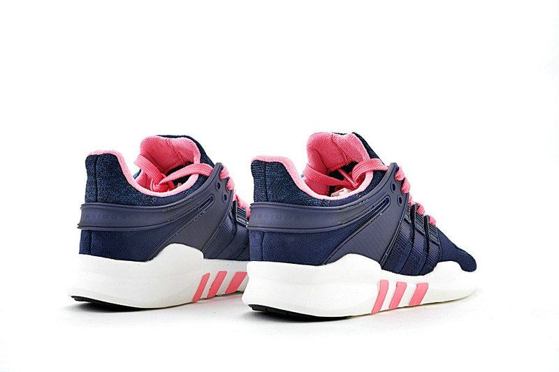 best loved 627fe 7be9e Spring Summer 2018 Cheap Adidas Originals EQT Support ADV Dark Blue Pink  White Shoe