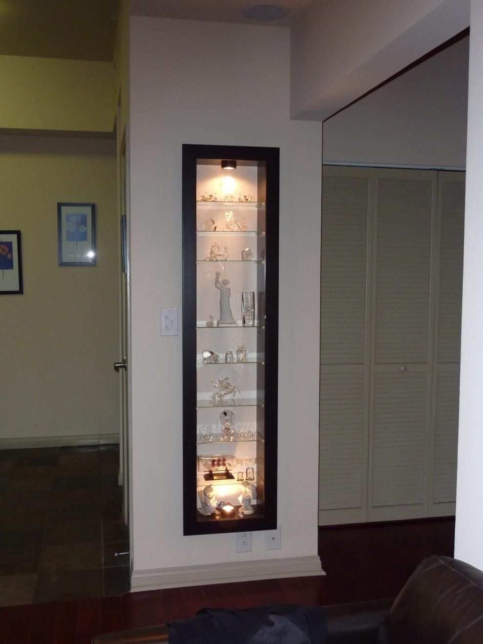 A recessed Bertby display cabinet | Ideas for the House ...