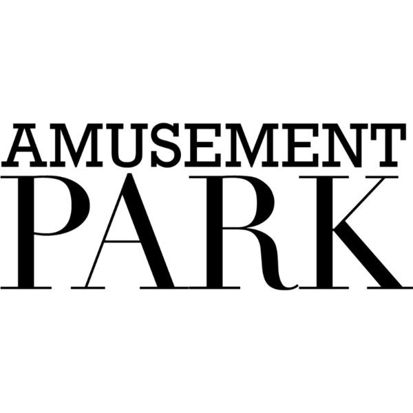 Amusement Park text liked on Polyvore featuring text