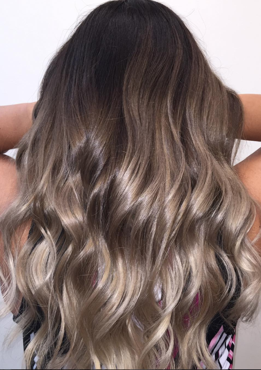 A Guide To Find Out What Hair Color Best Matches Your Skin Tone From Blonde Balayage Styles To Brown Hair Balayage Ash Brown Hair Color Light Ash Brown Hair