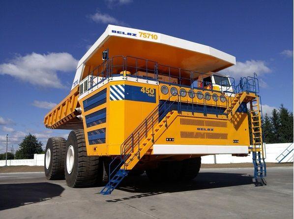 World Largest Dump Truck Belaz 75710 Vs World Largest Haul Truck Caterpillar 797f Dump Trucks Trucks Big Trucks