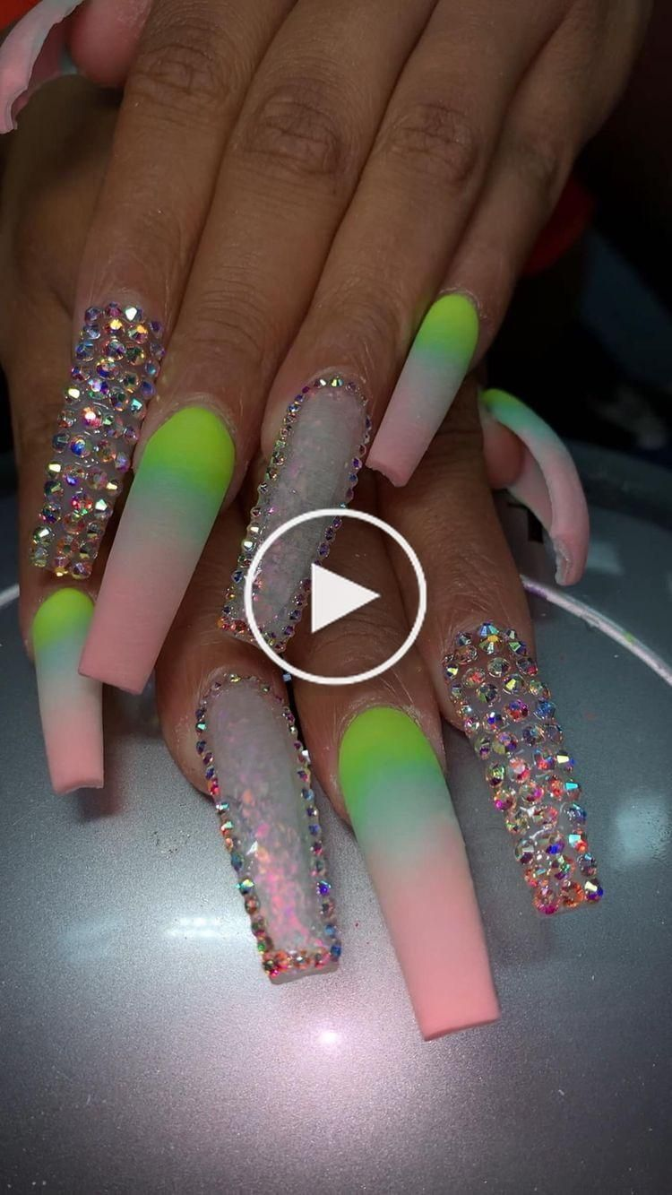 Cookiepower50 In 2020 Long Nails Long Acrylic Nails Nails